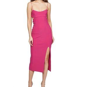Broc and bridge pink dress